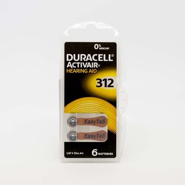 Duracell A312 Premium Hörgerätebatterien